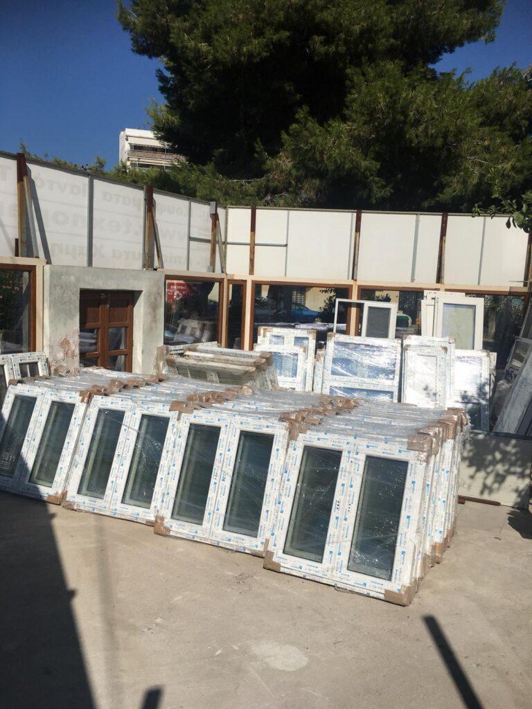 Κουφώματα PVC Προσφορά Παράθυρα κουφωμάτων PVC