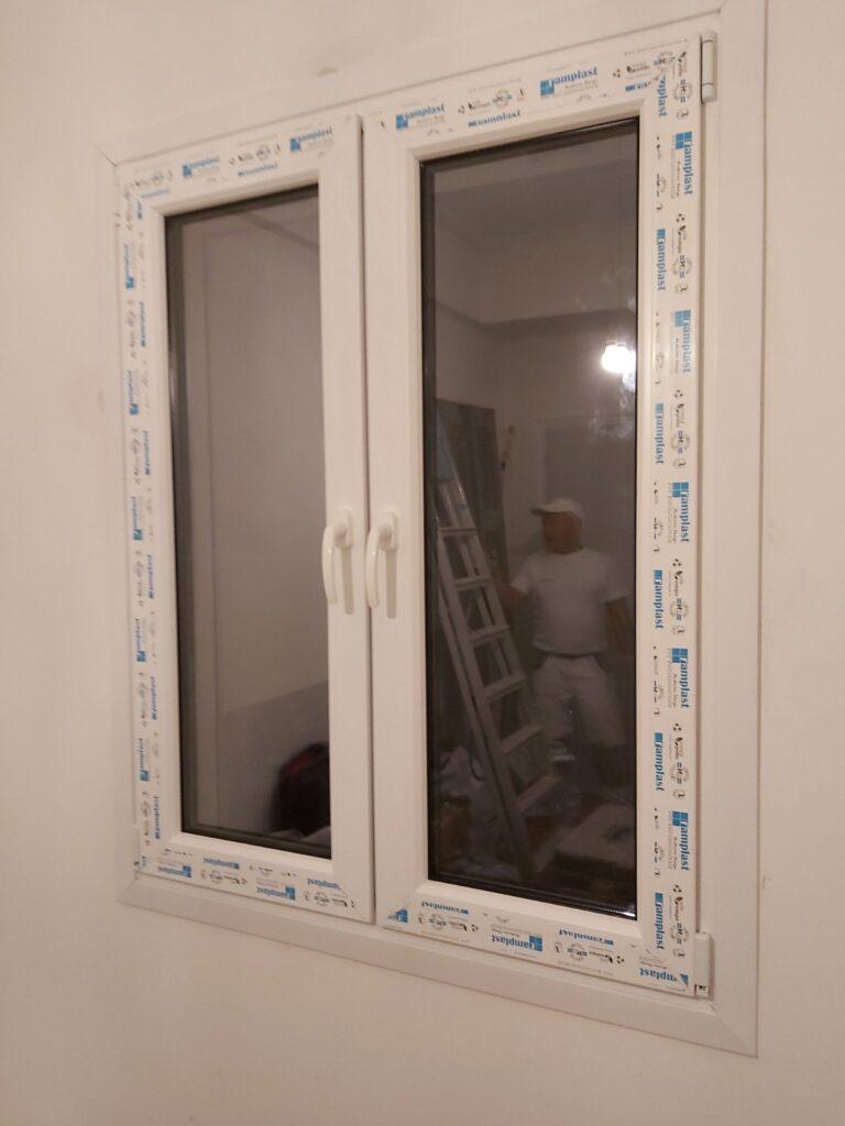 pvc παράθυρο τεχνοπαν