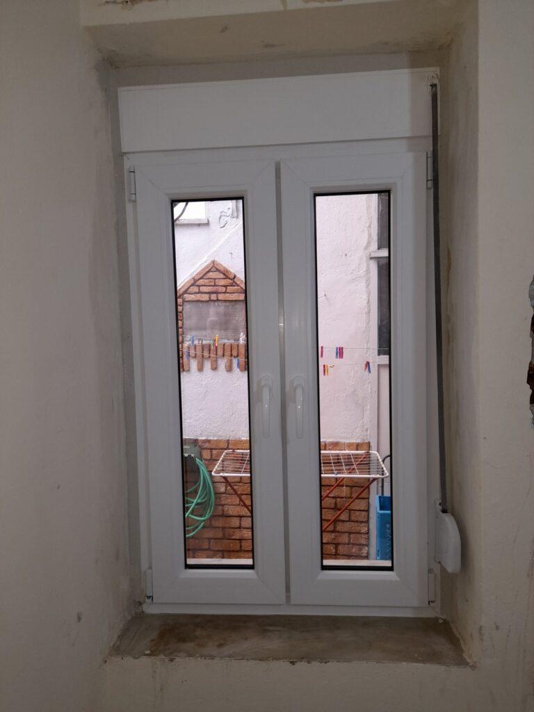 παράθυρο pvc δραπετσώνα