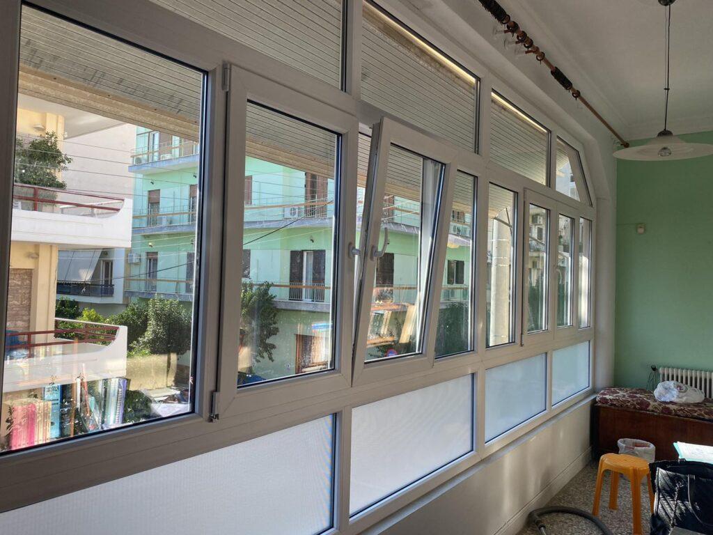 παράθυρα Pvc κουρδαλλός