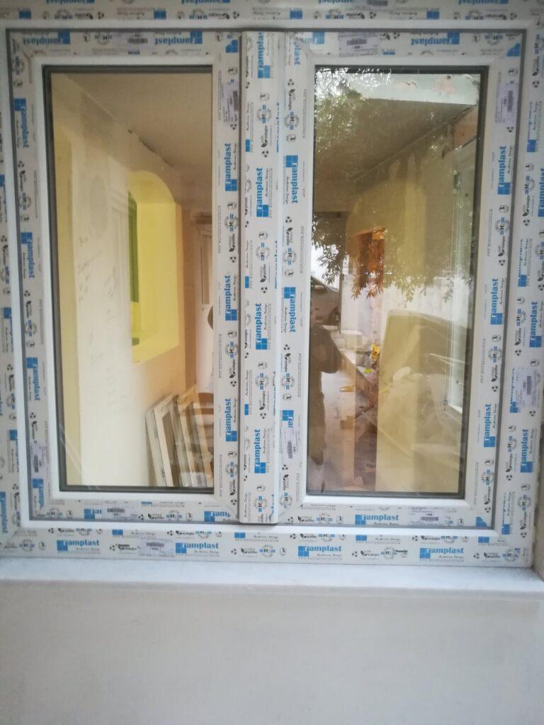 παράθυρο pvc αγία βαρβάρα