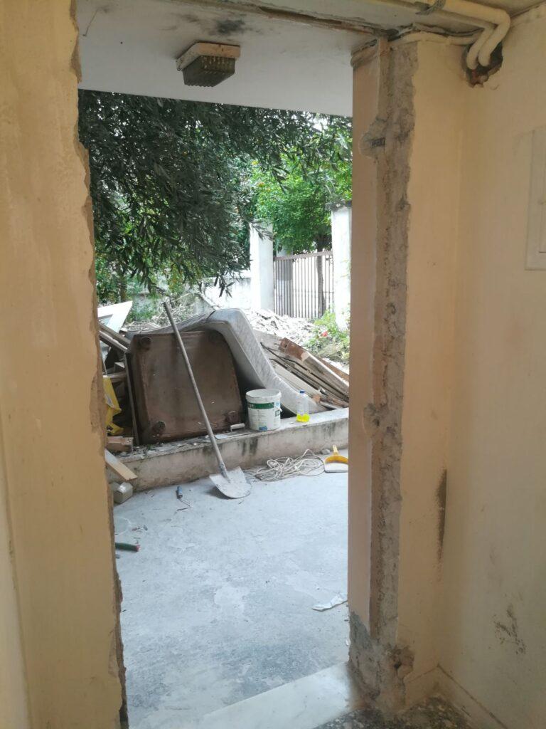 πόρτες pvc αγία βαρβάρα