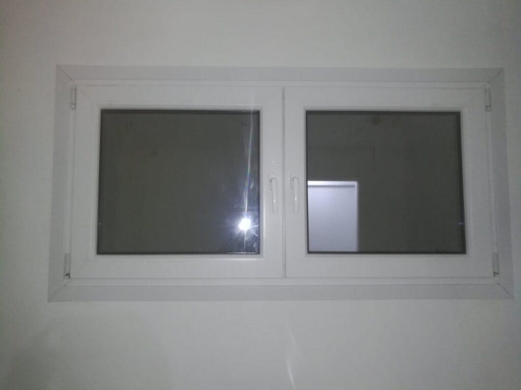 διπλό παράθυρο pvc τεχνοπαν