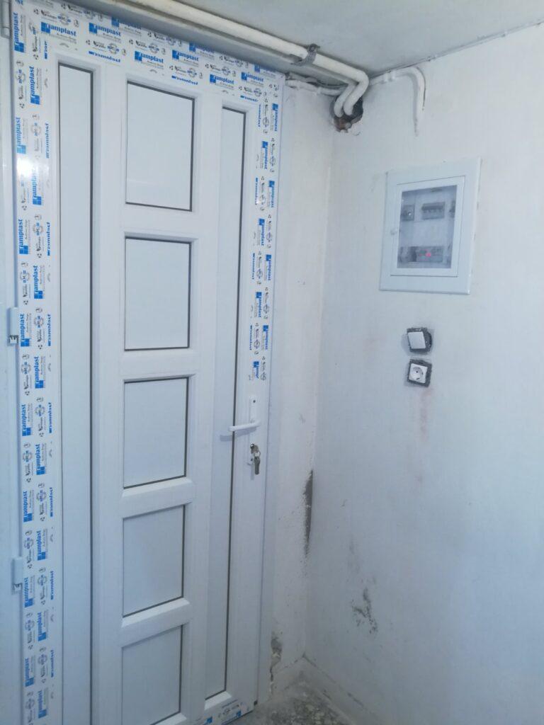 πόρτα εισόδου pvc