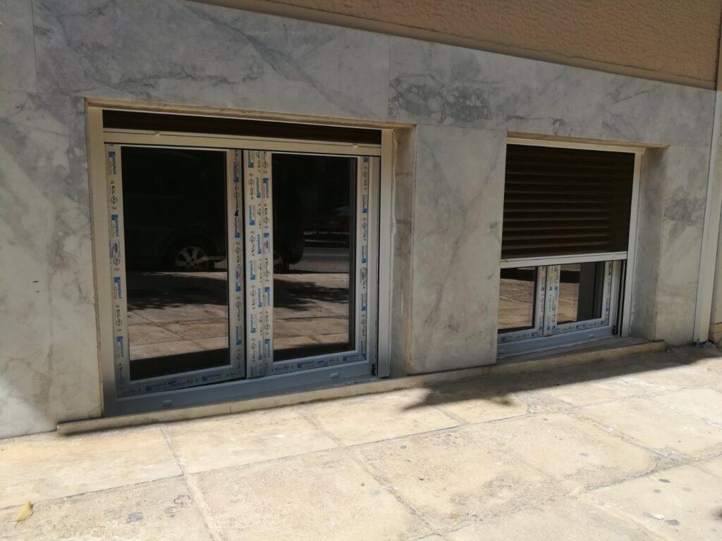 ενεργειακά παράθυρα και ρολά pvc παγκράτι